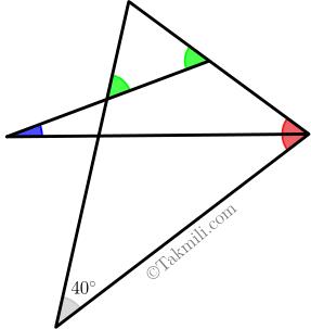 زاویه های داخلی و خارجی